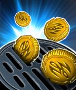 Coin Drain Aura Spell