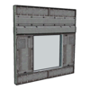 Industrial Windowed Wall 02