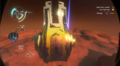 The front of Escape Pod 2 on Ember Twin.