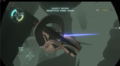 The rear of Escape Pod 3 on Dark Bramble.
