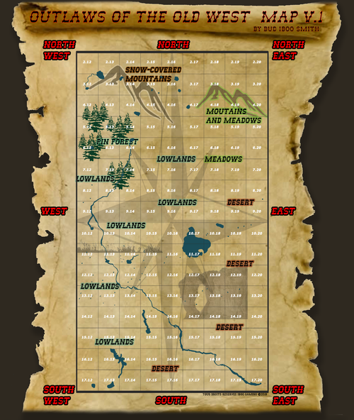 Maps - Outlaws of the Old West Wiki