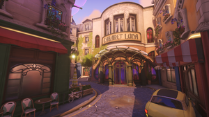 Cabaret Luna Exterior