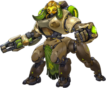 Image result for orisa overwatch