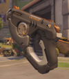 Tracer Weapon Classic Gun Overwatch League Gray.png