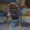 D.Va Skin Overwatch League Gray.png