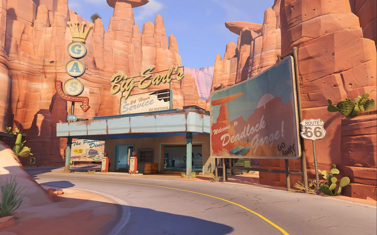 Route 66 - Overwatch Wiki on