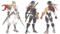 Genji Young and Blackwatch skin concept arts.png