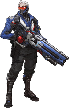 Image result for soldier 76 overwatch