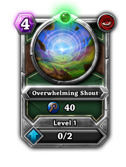 Overwhelming Shout card.png