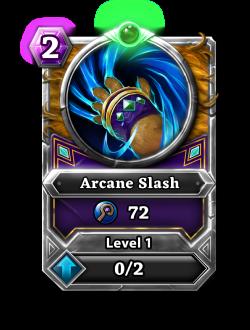 Arcane Slash card.png