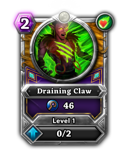Draining Claw card.png