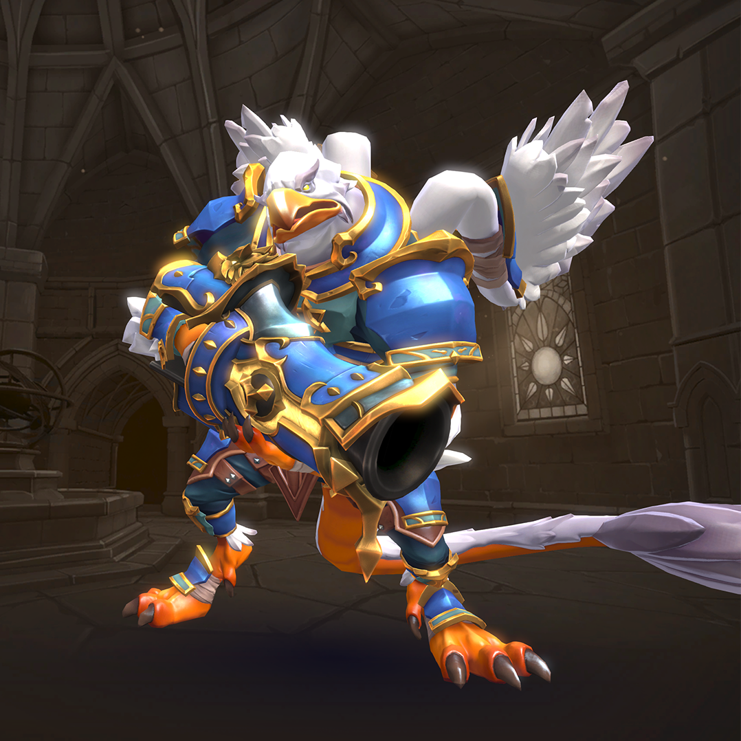 Pyre Warrior Drogoz Collection - Official Paladins Wiki