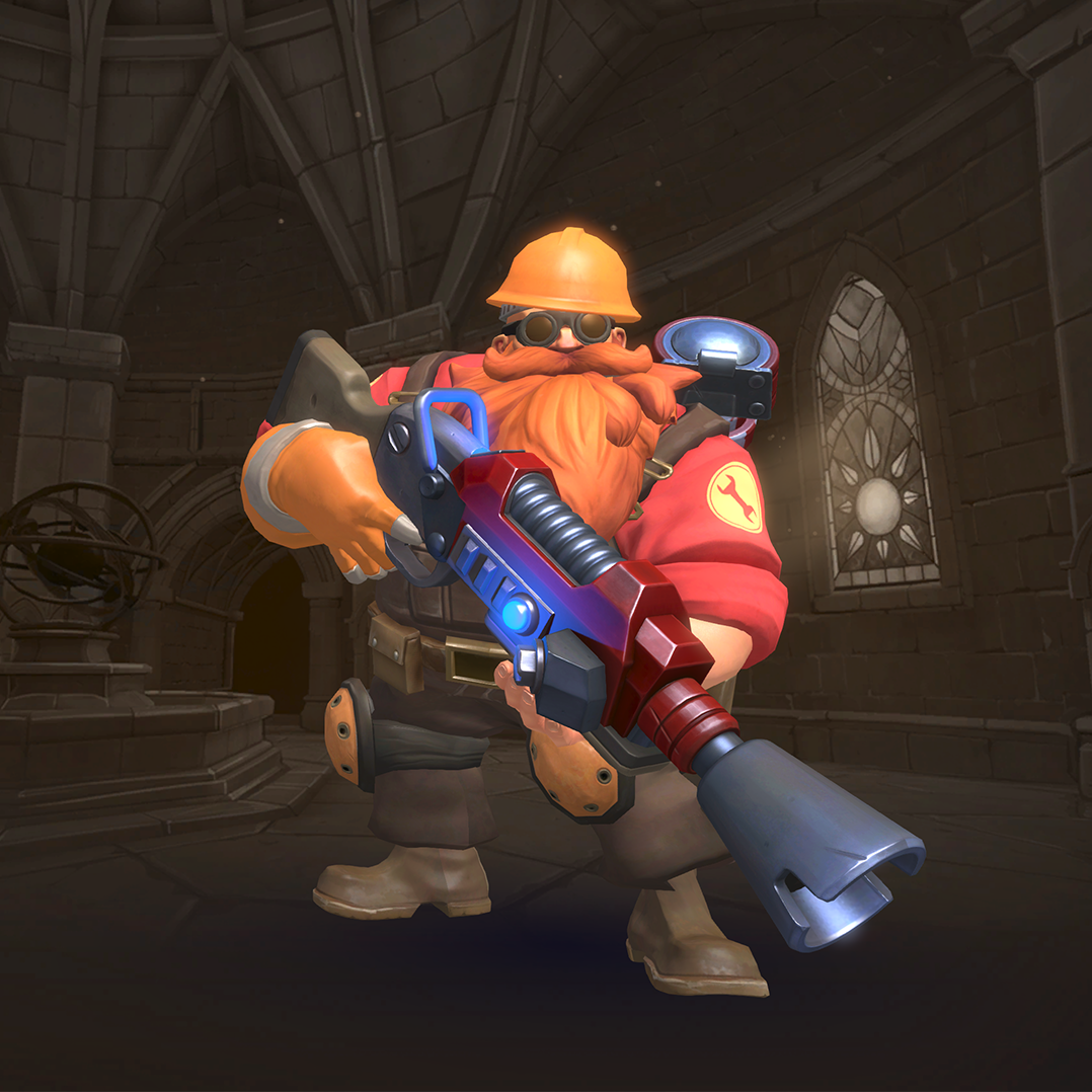 Team Fortress 2 Barik Collection - Official Paladins Wiki