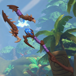 Grohk Weapon Deathcap Lightning Staff.png