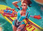Kinessa Collection Beach Bash Kinessa Icon.png