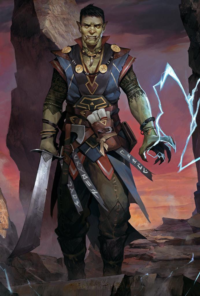 Half-Orc - Pathfinder: Kingmaker Wiki