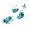 Azurite Footprints Effect inventory icon.png