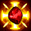 LifeRegenStrength (Chieftain) passive skill icon.png