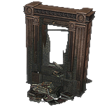 Burned Bookcase inventory icon.png