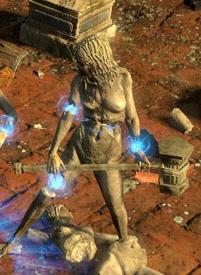 Maul Statue