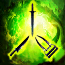ClawDaggerSwordAttackDamage2 passive skill icon.png