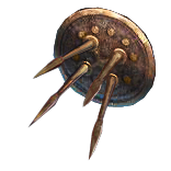 Ezomyte Spiked Shield inventory icon.png