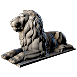 Sitting Lion Statue (Alva 4 decoration) inventory icon.png