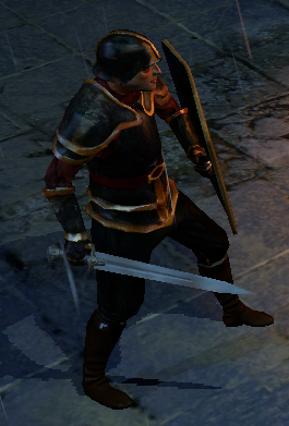 Blackguard Soldier