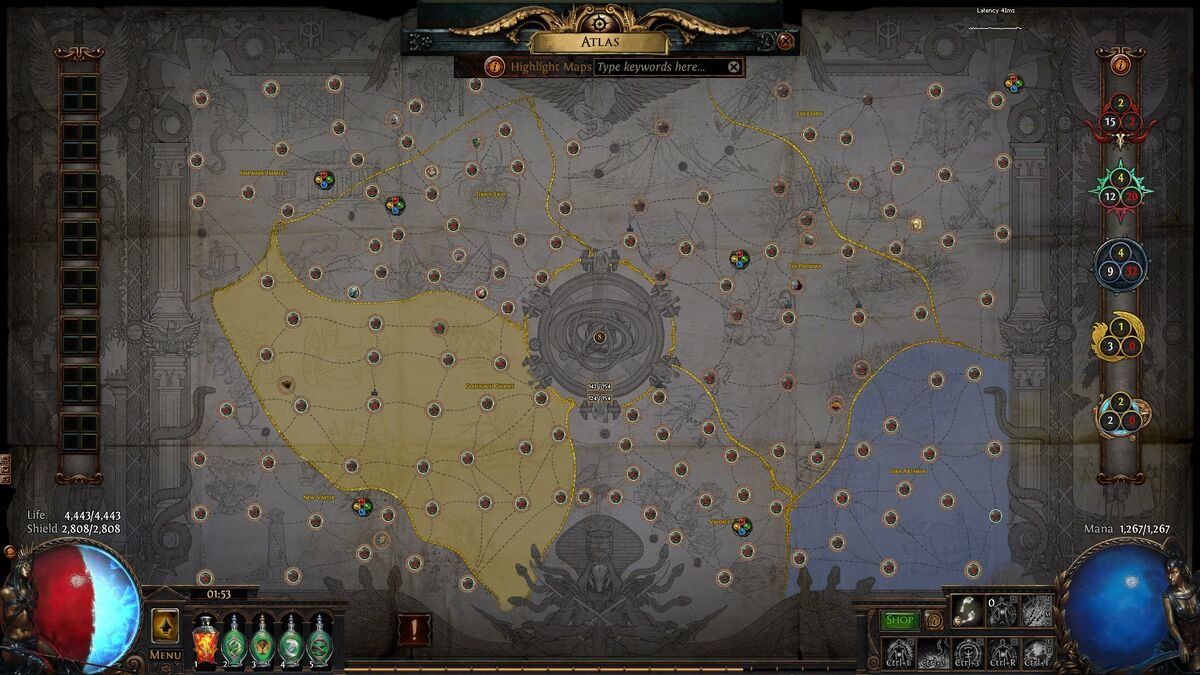 Atlas Of Worlds Official Path Of Exile Wiki