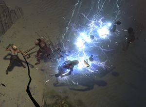 Lightning Arrow skill screenshot.jpg