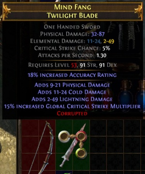 Corrupted - Official Path of Exile Wiki