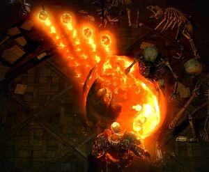 Огненный шар ваал skill screenshot.jpg
