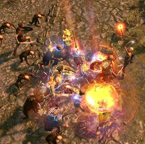 Дождь взрывов skill screenshot.jpg