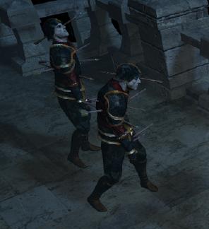 Бледный черный страж