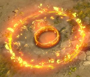 Мина кольца огня skill screenshot.jpg