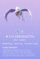 Aerodactyl Pokedex.png