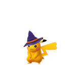 Pikachu female witch shiny.png