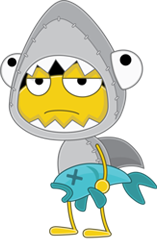Shark Guy - Poptropica Wiki
