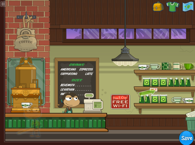 Queequeg's Coffee - Poptropica Wiki