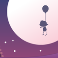 Balloon Boy Floating Pass the Moon.png