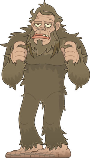 Image result for cryptids island bigfoot