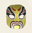 Yellow Chinese Opera Mask Icon.png