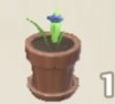 Large Blue Potted Flower Icon.png