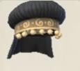 Duchess Puff Hat - Black Icon.png
