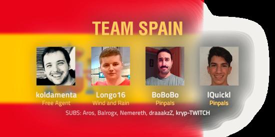 Team Spain 2018 Roster