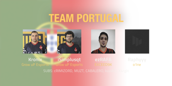 Team Portugal 2018 Roster