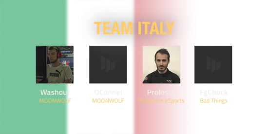 Team Italy 2018 Roster