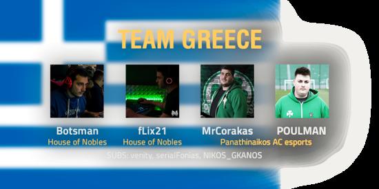 Team Greece 2018 Roster