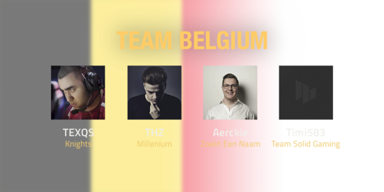 Team Belgium 2018 Roster