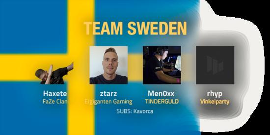 Team Sweden 2018 Roster